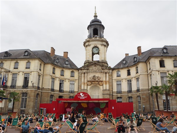 Hotel de Ville Centre of Rennes, Brittany France