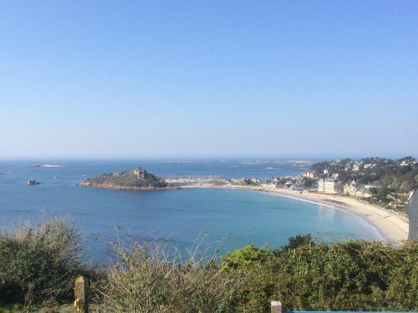 Treburden beach Brittany France