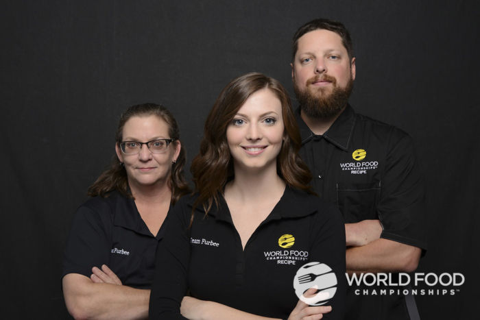 Team Furbee at the 2017 WFC (Page Furbee, Brittany Furbee, & Jacob Bucher)