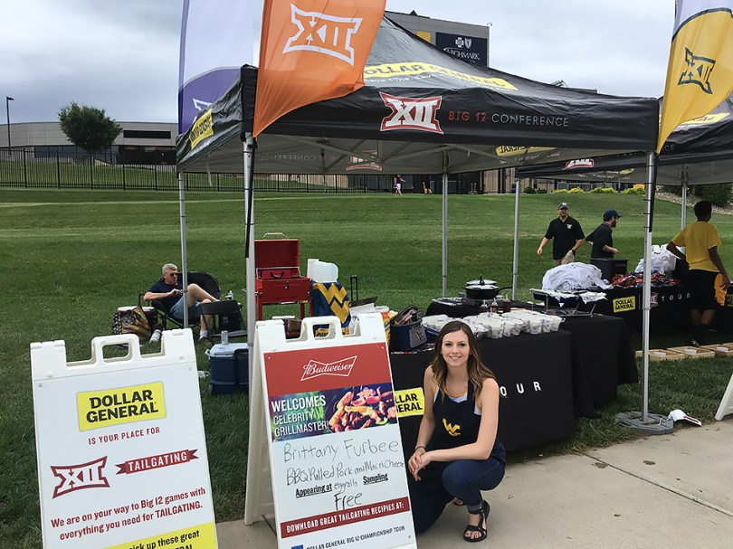 Brittany Furbee at the Dollar General Big 12 Championship Tour