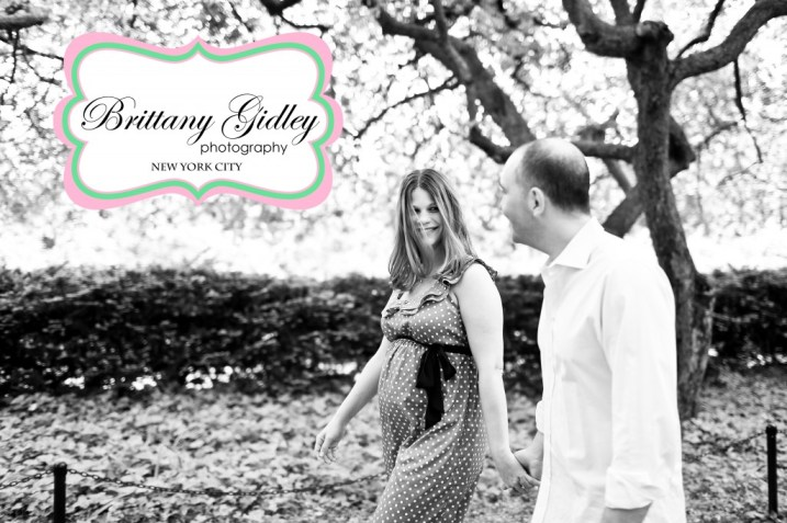 Central Park Maternity Photography | Brittany Gidley Photography LLC