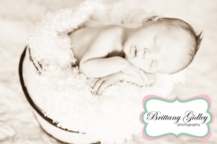 Newborn Baseball Session | Brittany Gidley Photography LLC