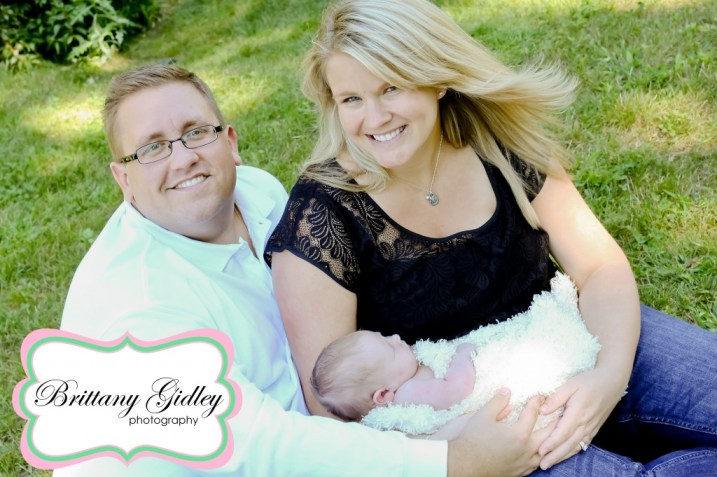 Newborn Baby Boy With His Family | Brittany Gidley Photography LLC