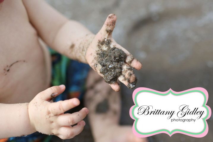 Beach Baby Photography | Brittany Gidley Photography LLC