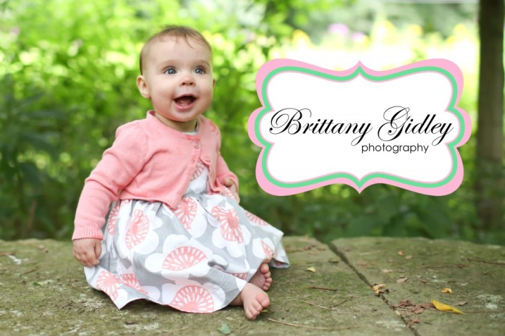 6 Month Baby Photography | Brittany Gidley Photography LLC