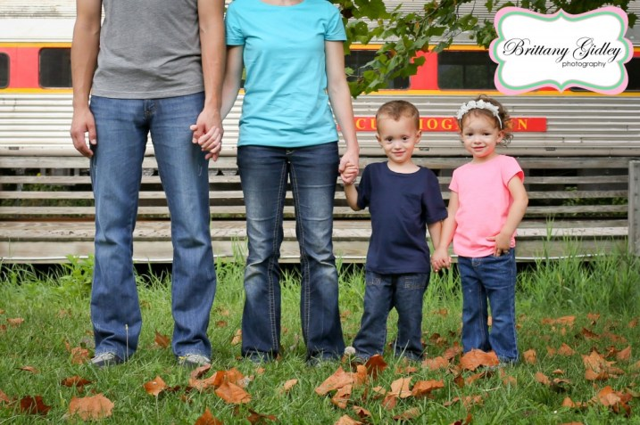 The Ludwig Family | Cuyahoga Valley Scenic Railroad Session