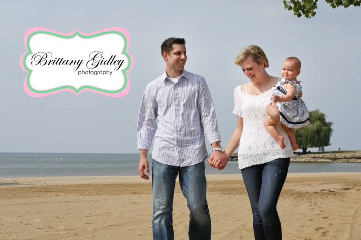 Beach 9 Month Baby Family Session | Brittany Gidley Photography LLC