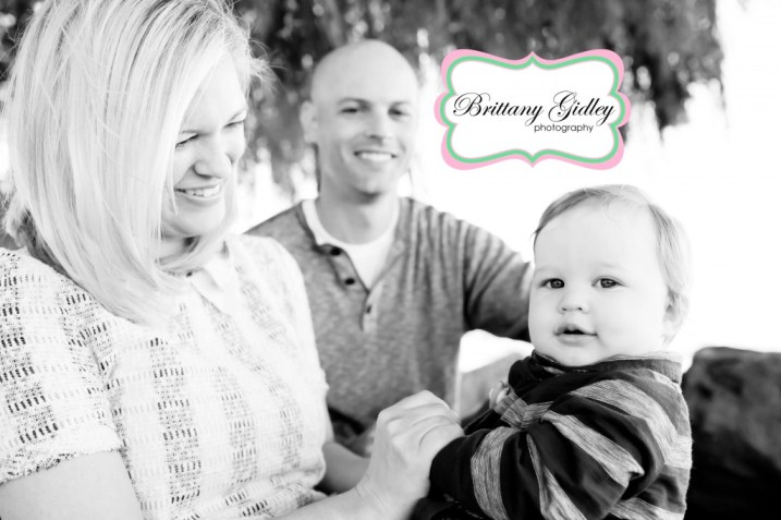 One Year Baby and Family | Brittany Gidley Photography LLC