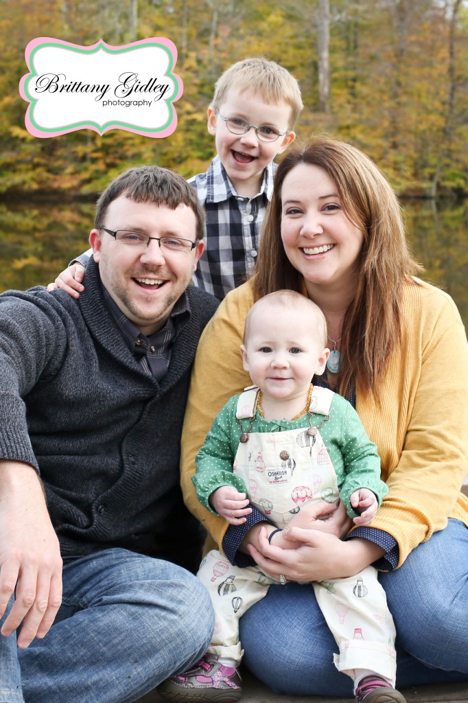 Fall Family Photographer | Brittany Gidley Photography LLC