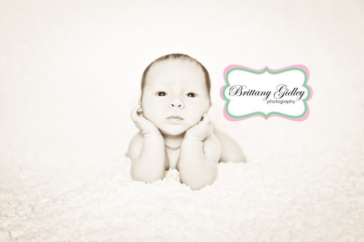 One Month Baby | Brittany Gidley Photography LLC