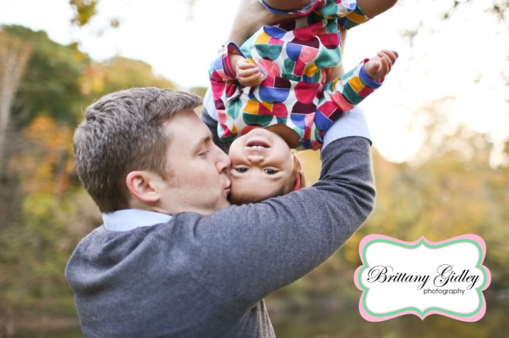 14 Month Old Baby and Dad | Brittany Gidley Photography LLC