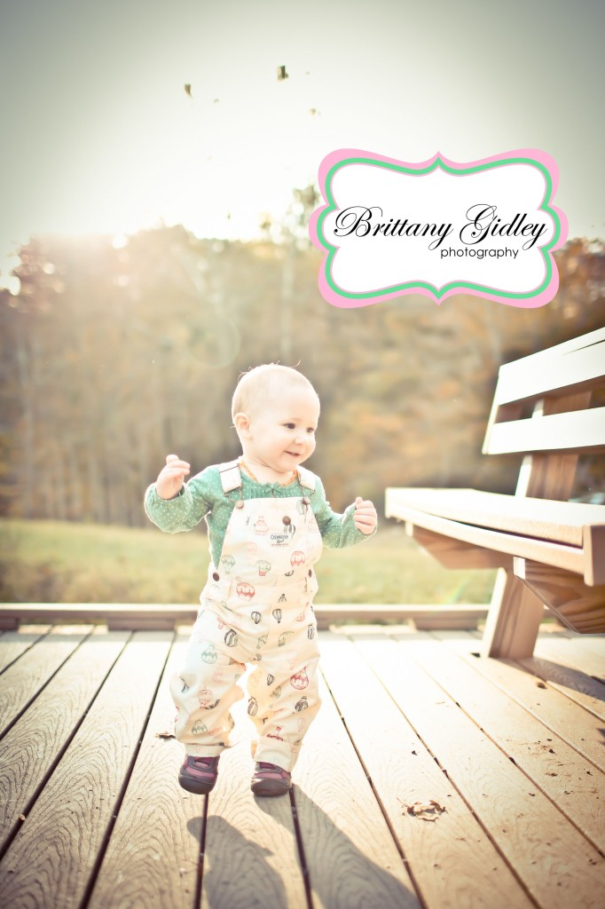 12 Month Baby Girl | Brittany Gidley Photography LLC