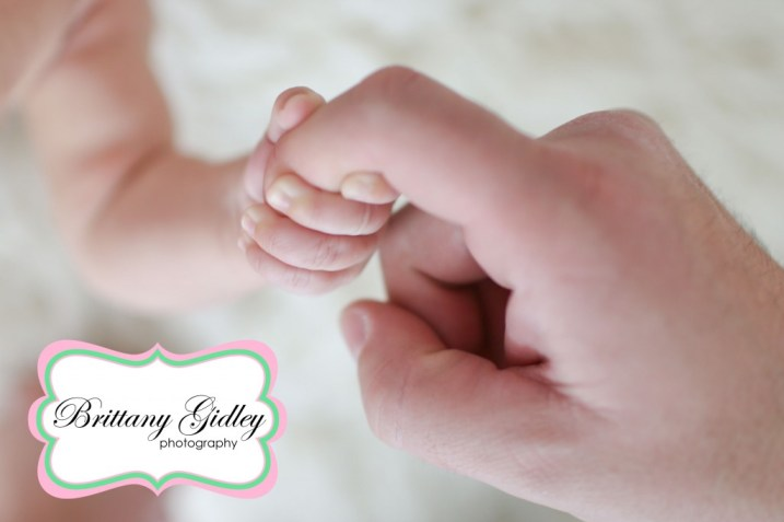 Baby Hands | Brittany Gidley Photography LLC