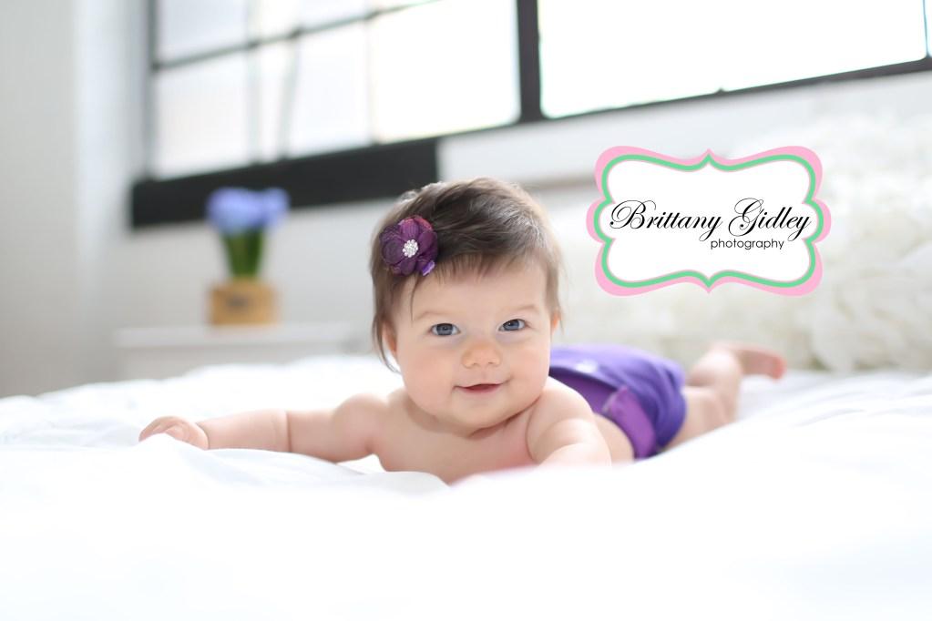 Beatrice 4 Months | Baby Photography Studio
