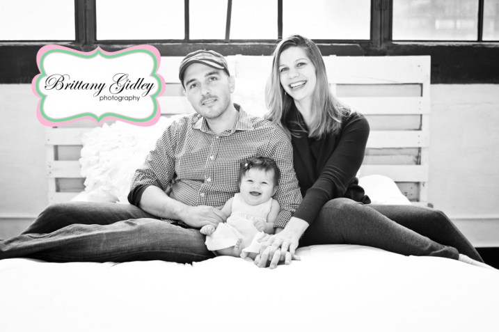 Baby Photography Studio | 4 Month Baby | Brittany Gidley Photography LLC