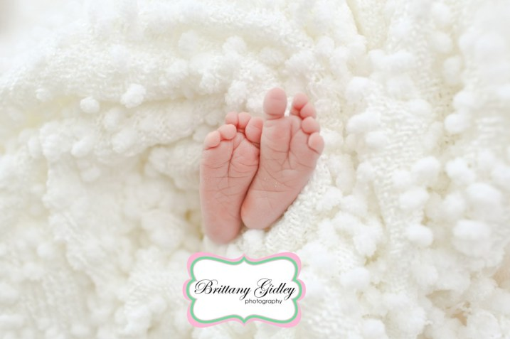 Baby Feet | Ten Toes | Brittany Gidley Photography LLC