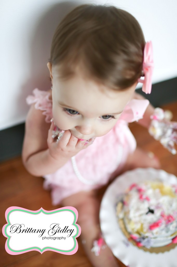 Smash Cake | Brittany Gidley Photography LLC
