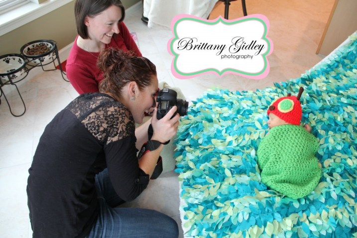 Behind The Scenes at Brittany Gidley Photography, LLC