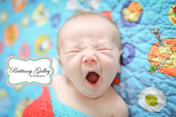 Dr Suess Newborn | Brittany Gidley Photography LLC