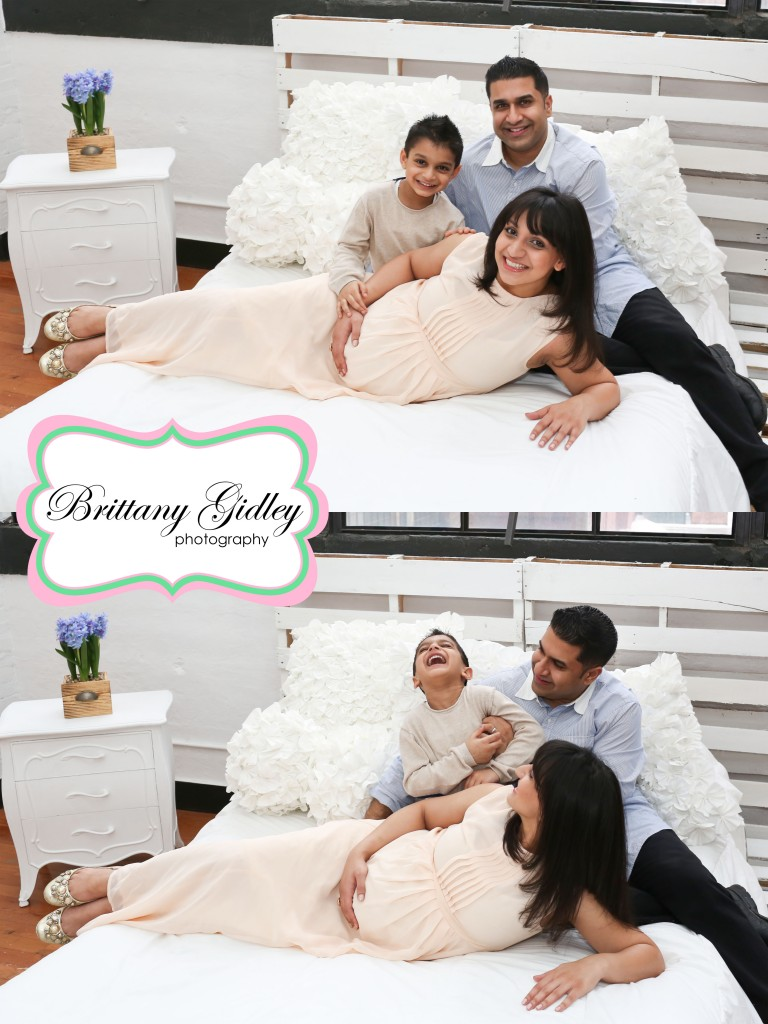 Family Maternity Images | Brittany Gidley Photography LLC