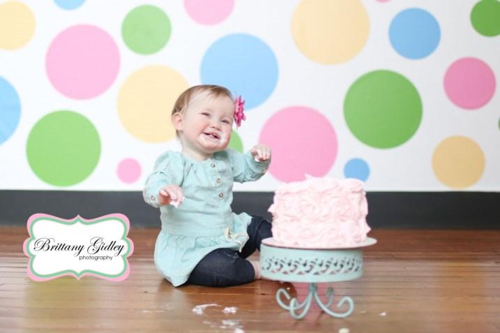 Cake Smash Session | Brittany Gidley Photography LLC