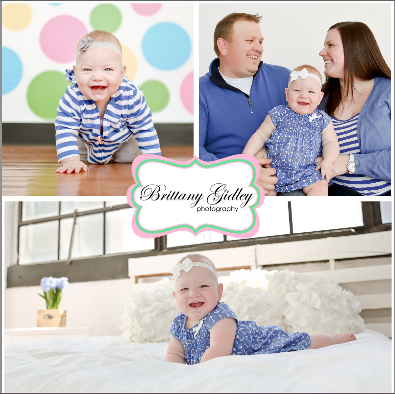 9 Month Photo Shoot | Brittany Gidley Photography LLC