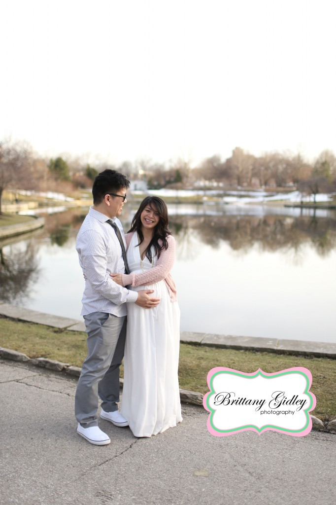 Family Maternity Photography | Best Maternity Session | Brittany Gidley Photography LLC