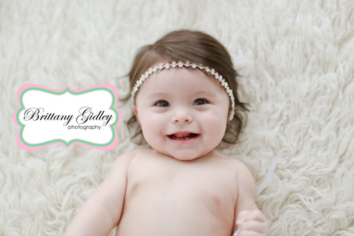 7 Month Baby Pictures | Brittany Gidley Photography LLC