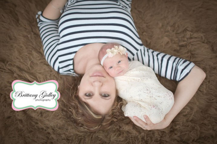 Mom & Baby Pose | Brittany Gidley Photography LLC