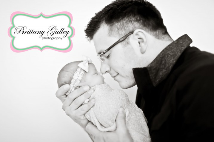 Baby With Father | Photography Pose | Brittany Gidley Photography LLC