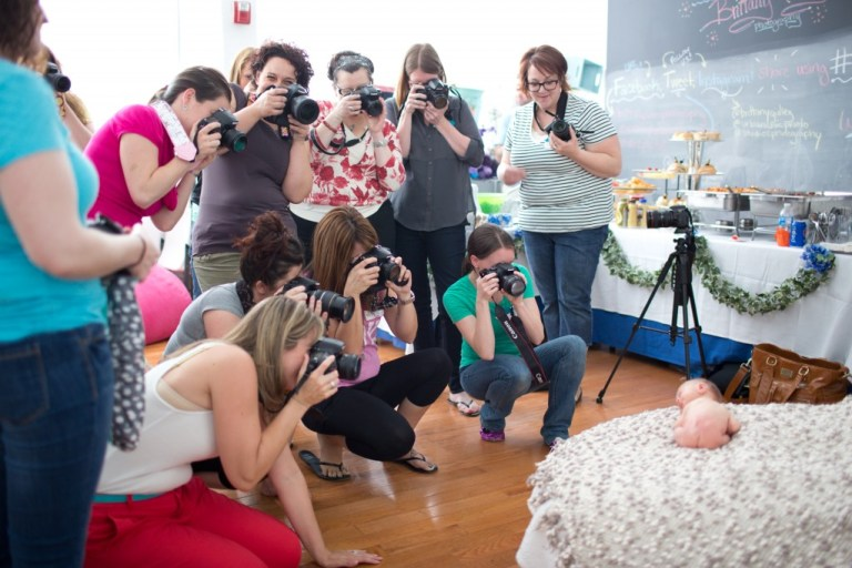 Newborn Workshop | How To | Teaching | Newborn Baby | Learning | Professional Photography | Brittany Gidley Photography LLC