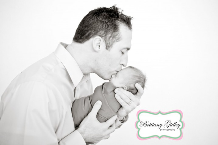 Dad & Baby | Brittany Gidley Photography LLC