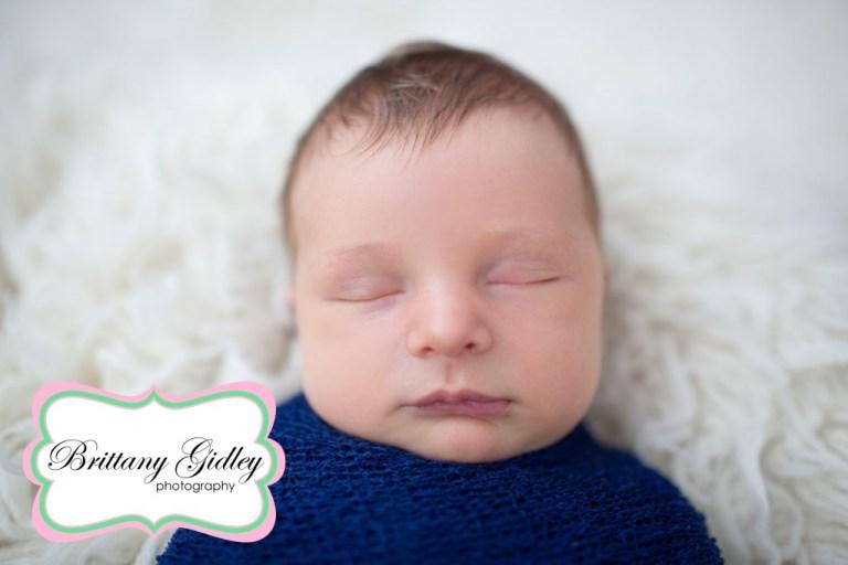 Flokati | Newborn Wrap | Brittany Gidley Photography LLC