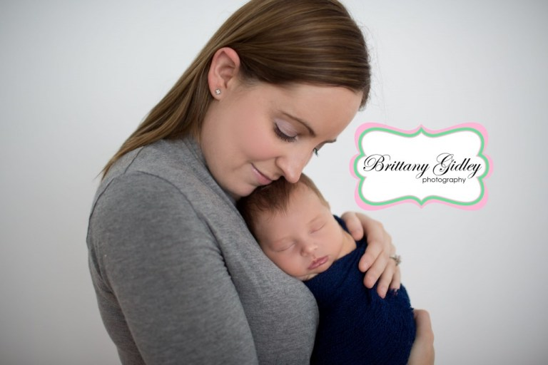 Mom & Baby Boy | Family Photograph | Newborn | Beautiful | Brittany Gidley Photography LLC