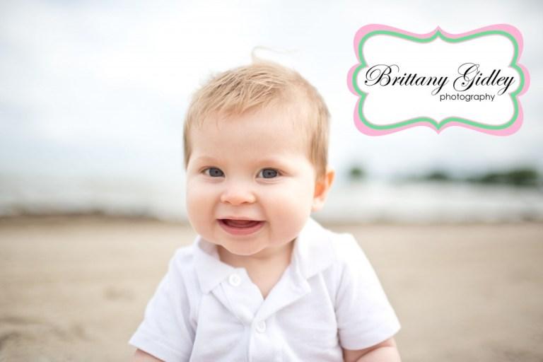 Beachy Baby | Beach Bum | Baby | Brittany Gidley Photography LLC
