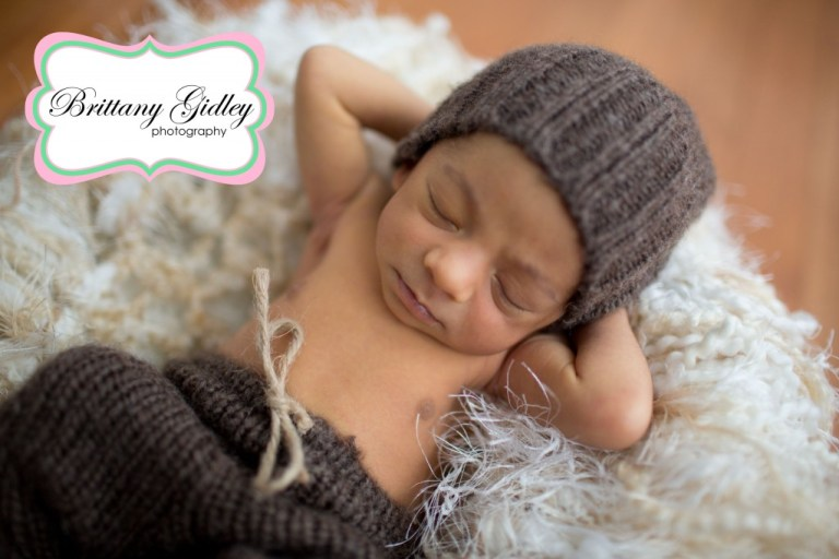 Cleveland Newborn | Newborn Pants | Upcycled | Brittany Gidley Photography LLC