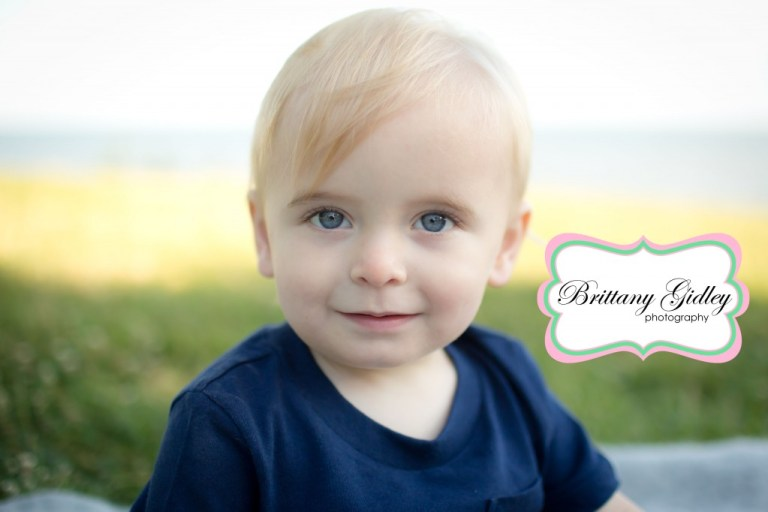 Rocky River Baby Photographer | Rocky River Park | 14 Months | Baby Boy Photography | Brittany Gidley Photography LLC