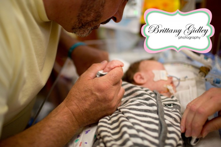 NICU Session | Photography | NICU | Family | Newborn Baby | Brittany Gidley Photography LLC