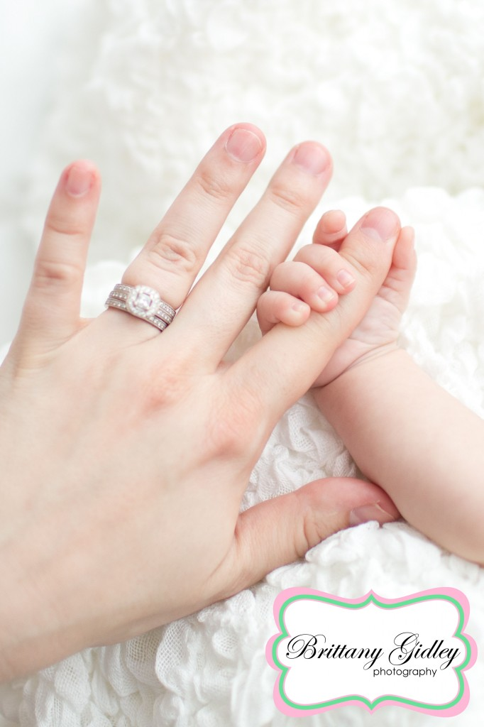 Baby Hands| Start With The Best | Brittany Gidley Photography LLC