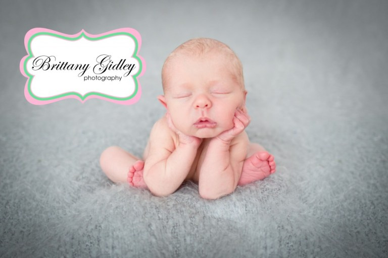 Froggy Pose | Newborn Photography | Start With The Best | Brittany Gidley Photography LLC