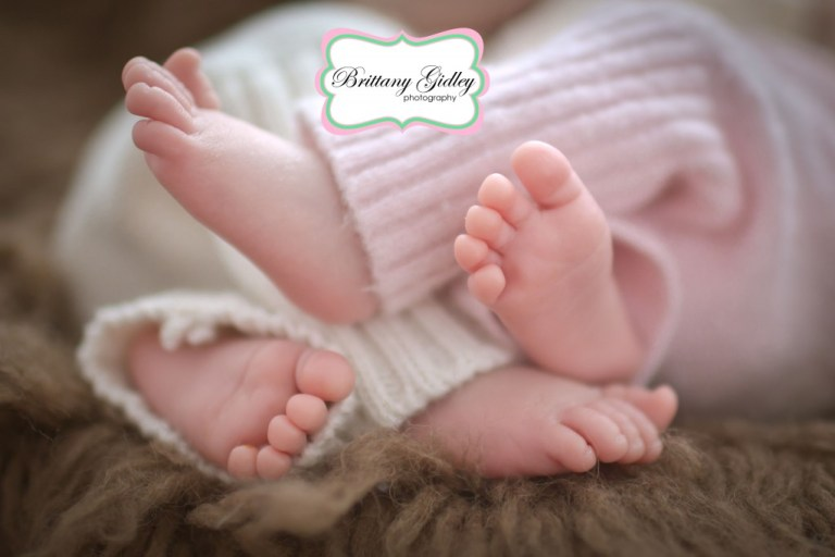 Newborn Twin | Feet | Start With The Best | Photography |Brittany Gidley Photography LLC