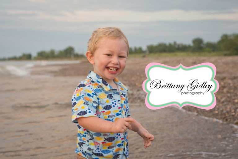 Family | 2 Year Old | Headlands | Cleveland Ohio | Beach | Brittany Gidley Photography LLC