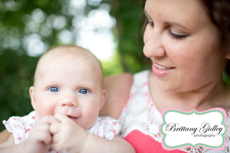 3 Month Old Baby With Mom | Brittany Gidley Photography LLC