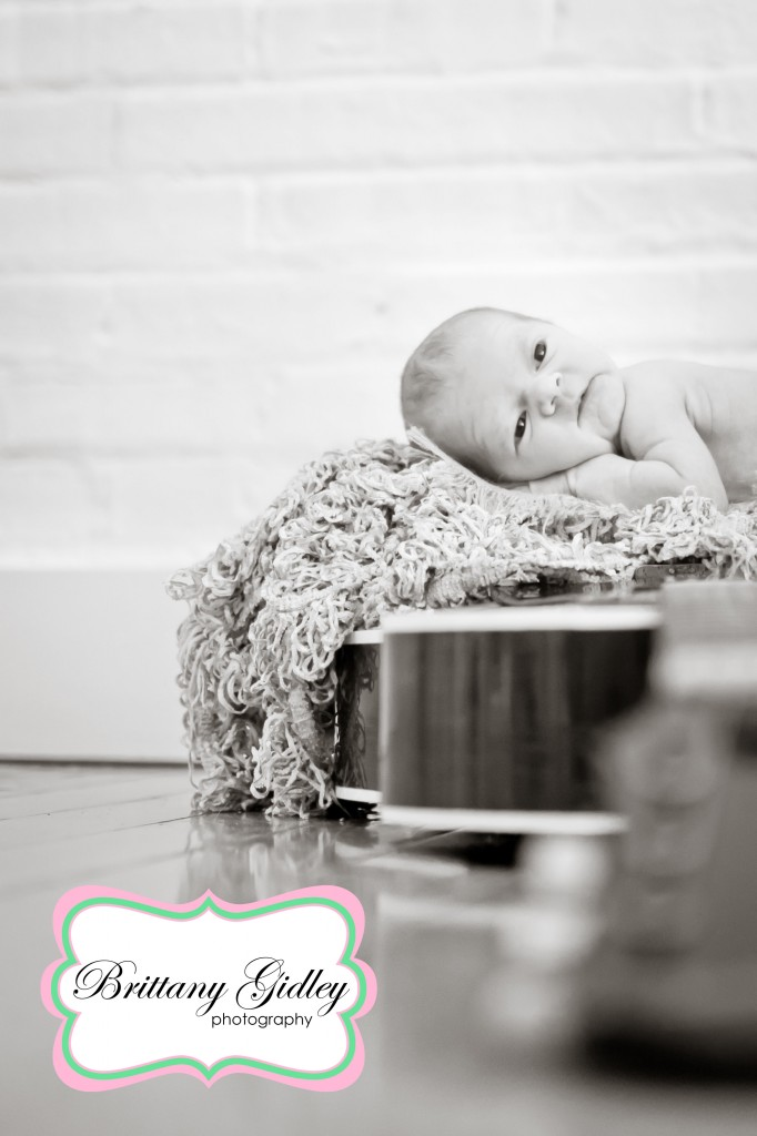 Little Brother | Guitar Image| Guitar Newborn | Brittany Gidley Photography LLC