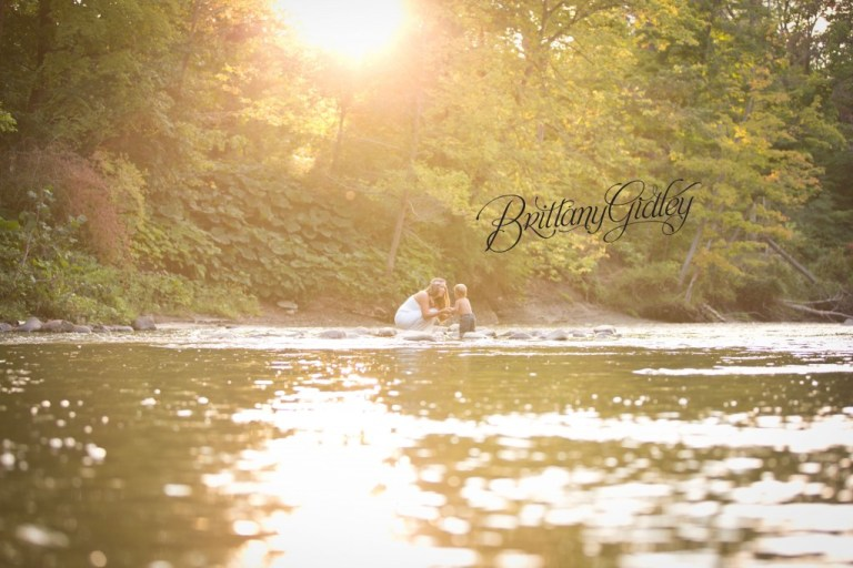 Cleveland Photography | River | Sunset | Gorgeous | Toddler Photography | Brittany Gidley Photography LLC