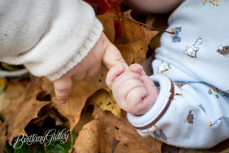 Children's Portraits | Fall | Fortier Park | Olmsted Falls, OH | Brittany Gidley Photography LLC