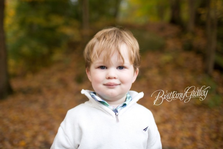 Best Children's Portraits | Fall | Fortier Park | Olmsted Falls, OH | Brittany Gidley Photography LLC