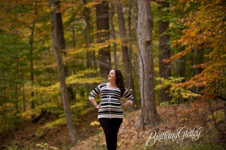 Cleveland Maternity Photographer | Maternity Photos | Pregnancy Pictures | Fall | Brittany Gidley Photography LLC