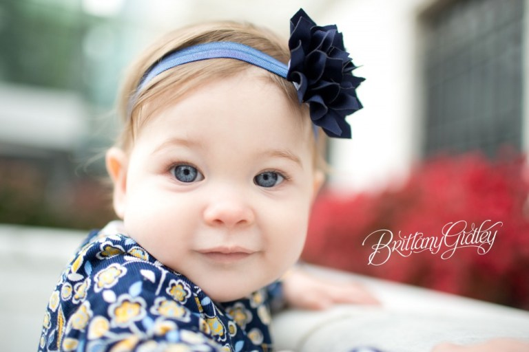 12 Month Photos | Cake Smash | Baby Portraits | Baby Brynn | Cleveland Ohio | Brittany Gidley Photography LLC