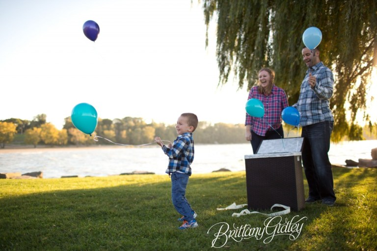Baby Sex Reveal | Pink or Blue | Reveal Party | Baby Gender | Brittany Gidley Photography LLC
